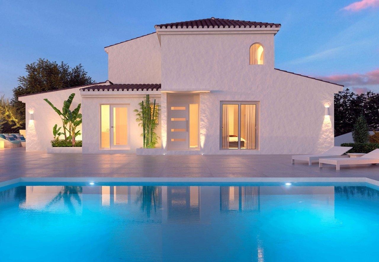 Продажа домов в коста бланка у моря недорого